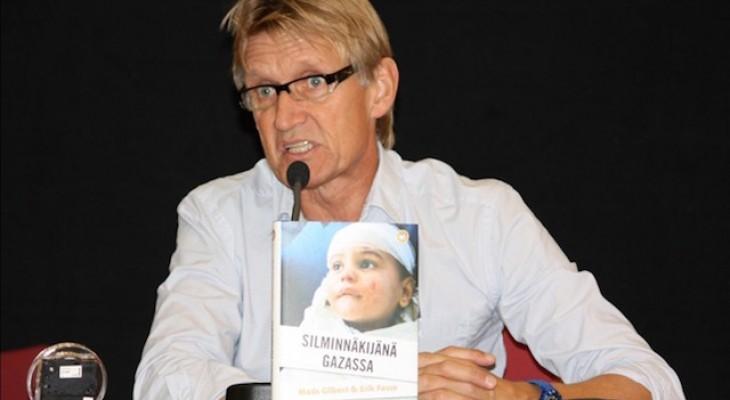 الطبيب النرويجي غلبرت : سأكون أول من يدلي بشهادته في المحكمة الجنائية الدولية