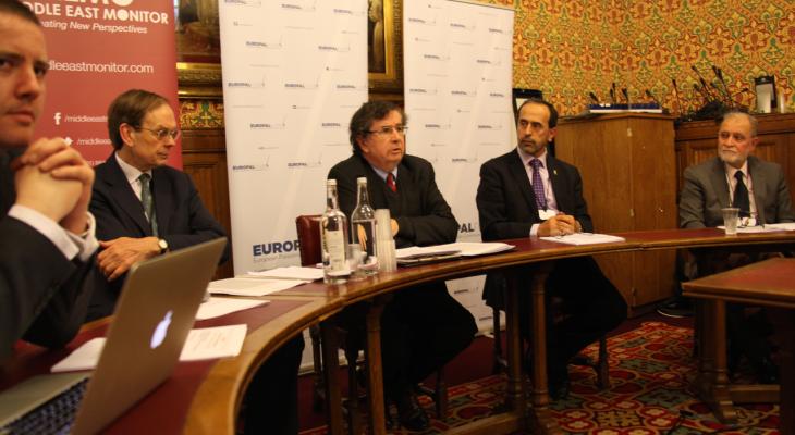 منتدى التواصل الأوروبي الفلسطيني يعقد ندوة في مجلس اللوردات البريطاني حول اعمار غزة وموجة الاعتراف بالدولة الفلسطينية والموقف الأوروبي من حركة حماس