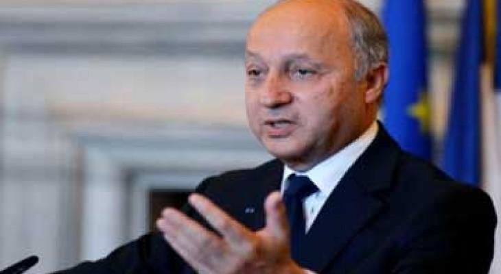 فابيوس: فرنسا ستحرك الجهود لتبني قرار في الامم المتحدة حول النزاع بين اسرائيل وفلسطين