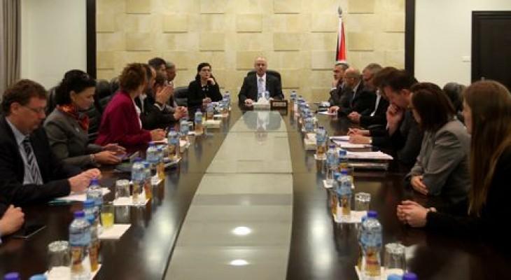 الحمد الله يدعو البرلمان الألماني للاعتراف بدولة فلسطين