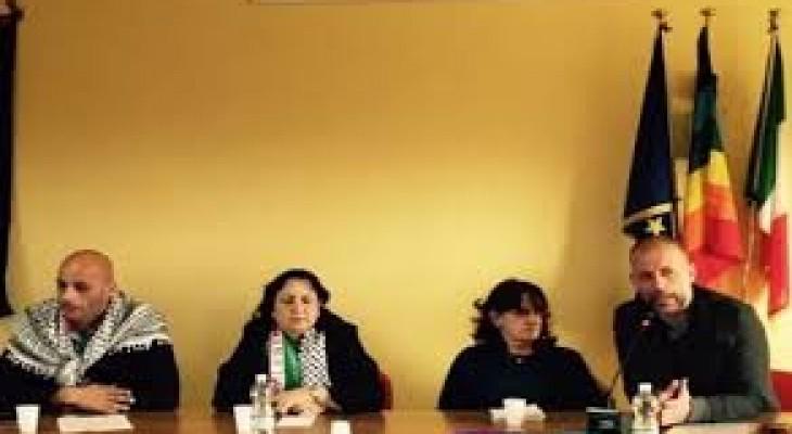سفارة فلسطين في ايطاليا تحيي يوم الارض
