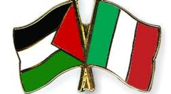 إيطاليا تتعهد بتقديم قروض لمشاريع استثمارية بغزة