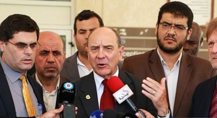 منسق الأمم المتحدة للشؤون الإنسانية يدعو لرفع الحصار عن قطاع غزة