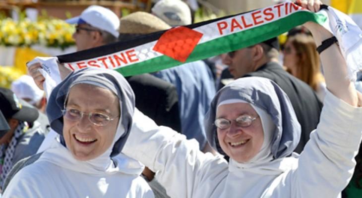 بابا الفاتيكان يعلن قداسة راهبتين فلسطينيتين