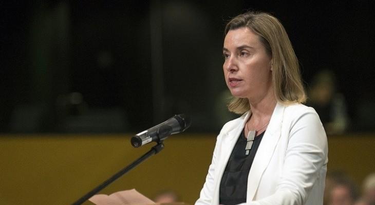 موغيريني عشية زيارة فلسطين المحتلة: الاتحاد الأوروبي جاهز للعب دور في التسوية
