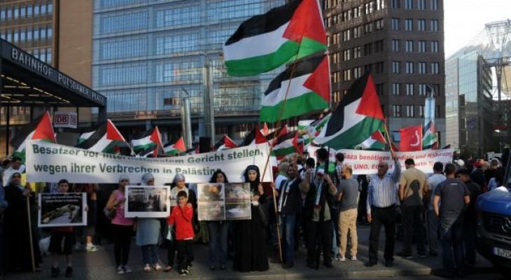 فلسطينيو ألمانيا يختتمون فعاليات إحياء الذكرى 67 للنكبة