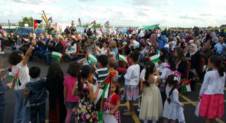 المنتدى الفلسطيني في بريطانيا ينظم مهرجانا في يومه السنوي