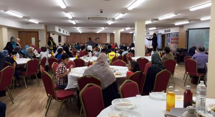 المنتدى الفلسطيني في بريطانيا ينظم أمسية رمضانية في لندن