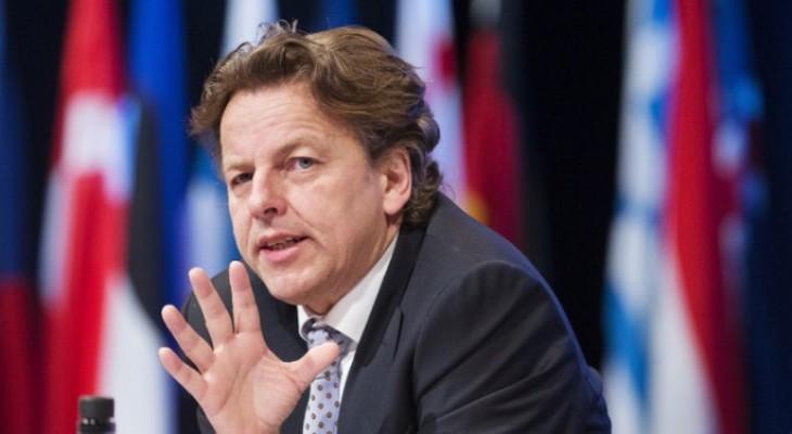 وزير الخارجية الهولندي يزور قطاع غزة