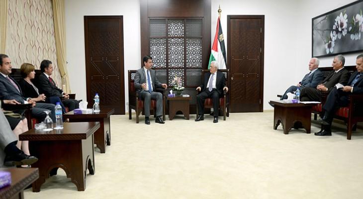وفد لجنة الصداقة البرلمانية البرتغالية – الفلسطينية يزور الضفة الغربية