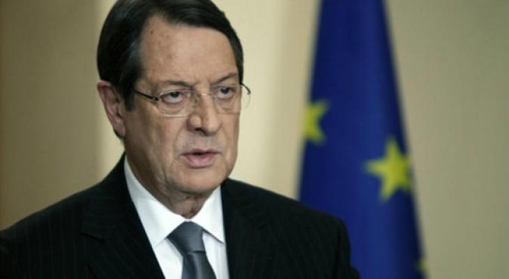 الرئيس القبرص: علاقاتنا مع إسرائيل لا تأتي على حساب مواقفنا المبدئية من القضية الفلسطينية