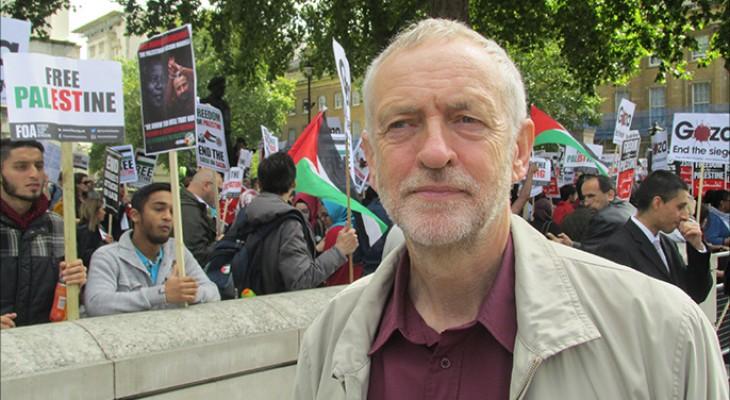 جيرمي كوربن : حماس حركة منتخبة وينبغي ان تكون طرفا في أي عملية سلام قادمة