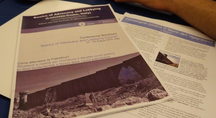 البعد الدولي للصراع في الشرق الأوسط في دورة للشباب الفلسطيني في إيطاليا