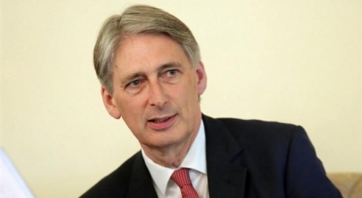 بريطانيا تدعو للتهدئة بين الطرفين الفلسطيني والإسرائيلي