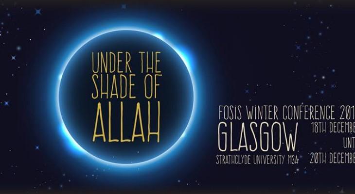 مؤتمر اتحاد جمعيات الطلبة المسلمين في الجامعات البريطانية الشتوي - اسكتلندا