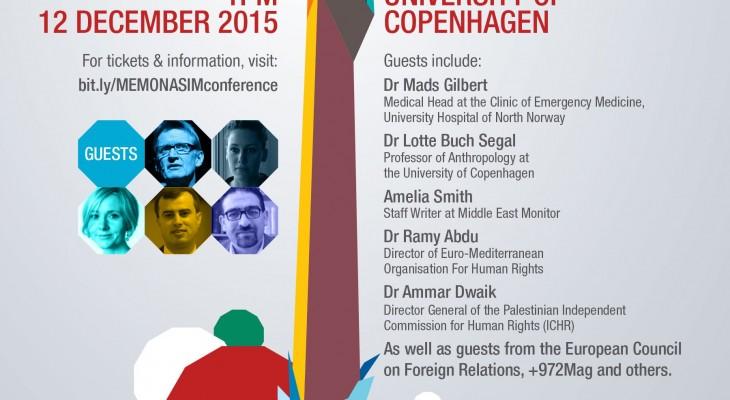 """دعوة لحضور مؤتمر بعنوان  """"حقوق الفلسطيينين: الوعي والتأييد في أوروبا"""""""