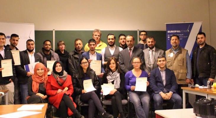 دورة تأهيلية للشباب الفلسطيني وللمتضامنين في مدينة روتردام الهولندية