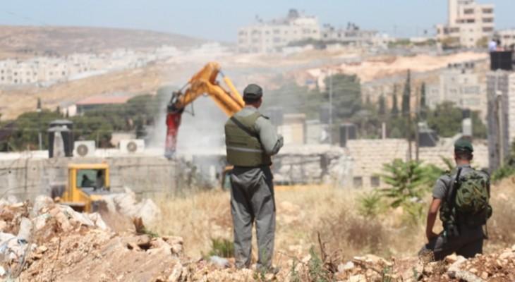 بريطانيا تدعو إسرائيل لوقف سياسة الهدم وطرد الفلسطينيين من منازلهم