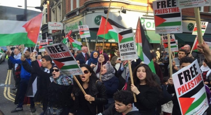 دعوة للمشاركة في اعتصام النكبة امام السفارة الإسرائيلية في لندن