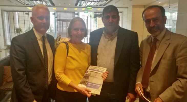 وفد برلماني غربي يختتم زيارته للقدس ويلتقي في عمان برئيس لجنة فلسطين النيابية