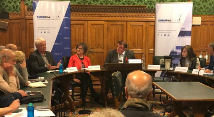 ندوة في البرلمان البريطاني ناقشت تحديات الحركة التضامنية والدور المطلوب لإنهاء معاناة الفلسطينيين