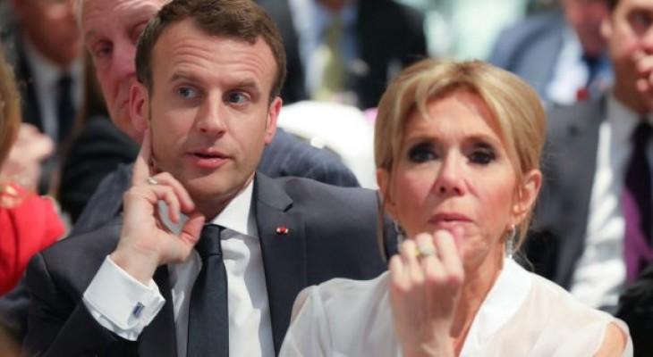 ماكرون: فرنسا لن تتخلى عن دورها فى حل النزاع بين فلسطين وإسرائيل