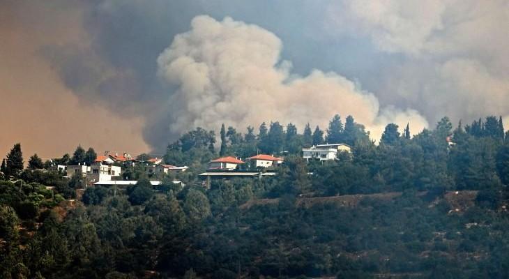 تجدد الحرائق في غرب القدس وإسرائيل تستنجد بدول أوروبية لإطفائها