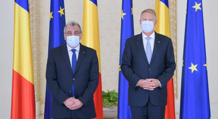 رئيس رومانيا يؤكد التزام بلاده بحل الدولتين وعدم نقل سفارتها إلى القدس