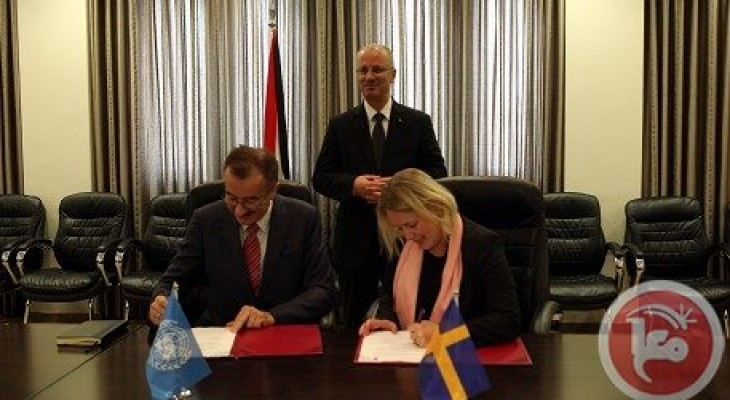 Sweden signs UNDP agreement for reconstruction of Gaza