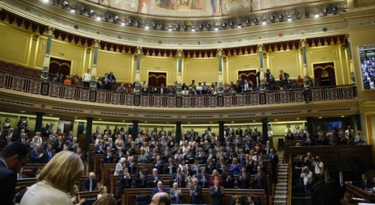 Spanish Parliament votes to Recognise Palestine