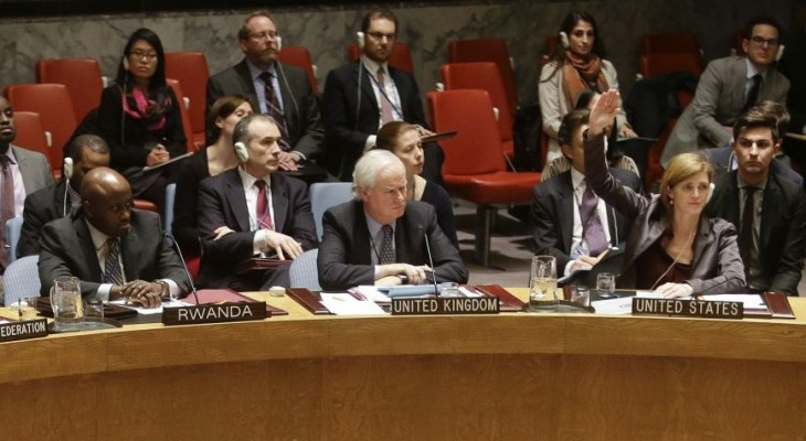 Palestinian resolution fails at the Security Council, U.S. votes against 'staged confrontation' at the UN: