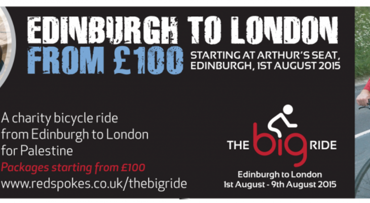 The Big Ride For Palestine- LAUNCH!