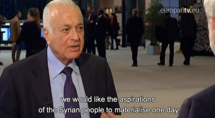 Video: Arab League chief calls for greater EU role in bringing peace