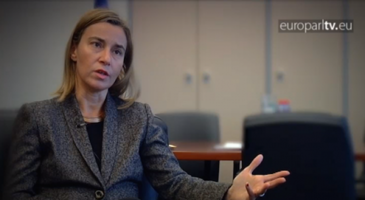 Video: The EU's foreign policy chief: Federica Mogherini