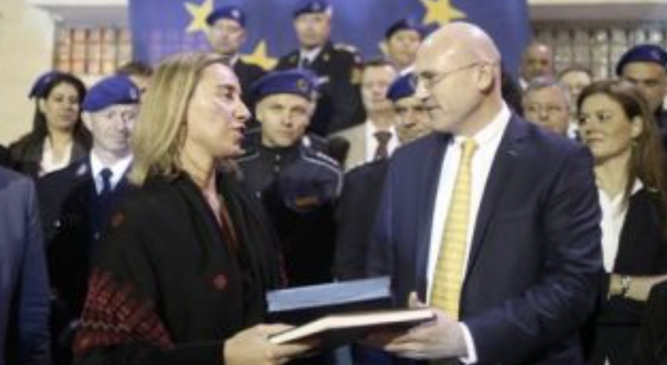EU police mission for the Palestinian territories get new Head of Mission