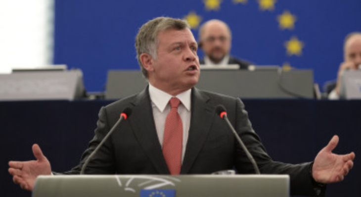 Jordanian King Abdullah: Unresolved Palestine question threatens world peace