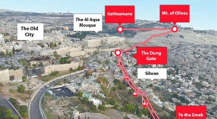 European companies complicit in a new project in East Jerusalem