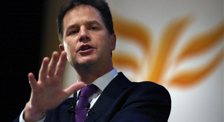 Nick Clegg condemns Netanyahu for ruling out two-state solution