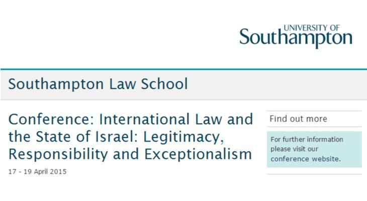 Take Action: Southampton University's Shameful Capitulation
