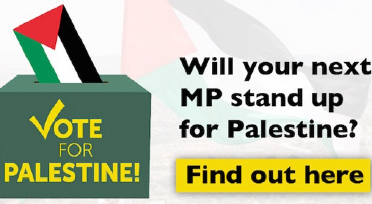 Find out your General Election candidates' views on Palestine!