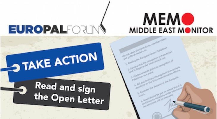 Take Action | Read and sign the Open Letter in Support of Palestinian Rights