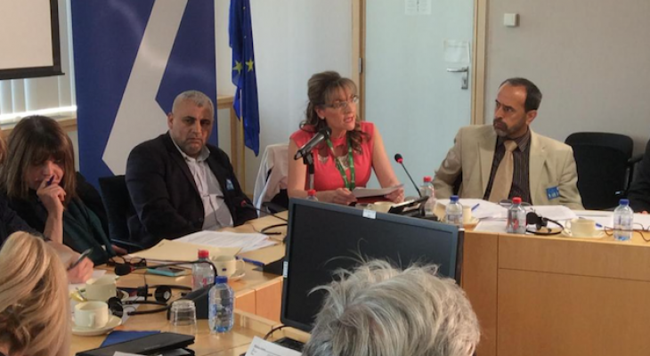 MEP Martina Anderson we shall continue to support wider recognition of Palestinian statehood