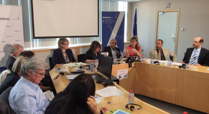 EuroPal Forum seminar at the European Parliament - 26th May 2015- Brussels