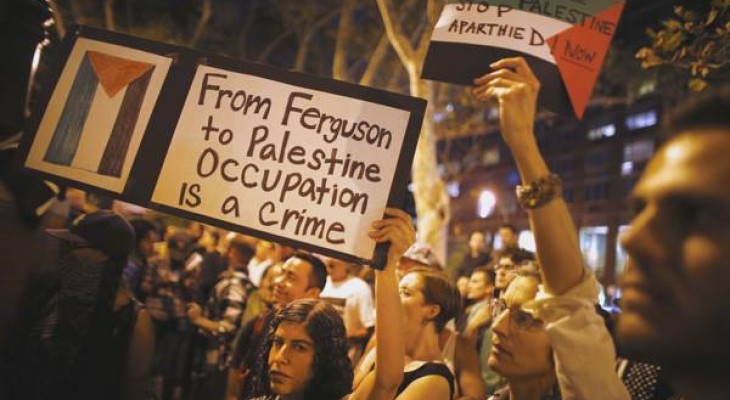 A thousand of black-activists signed a statement expressing their solidarity with Palestine
