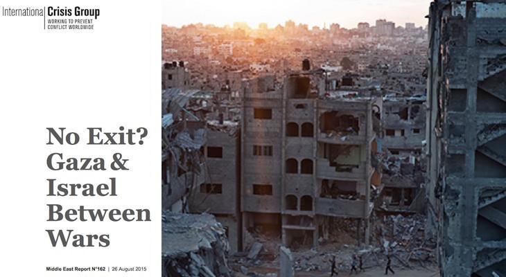 Download report: No Exit? Gaza & Israel Between Wars