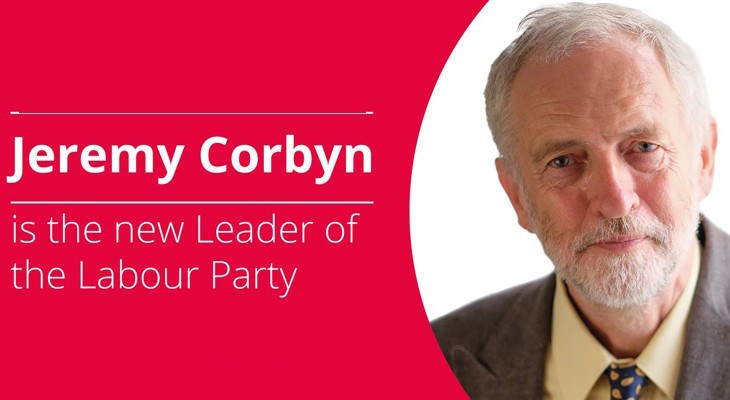 Labour leadership: Jeremy Corbyn elected with huge mandate