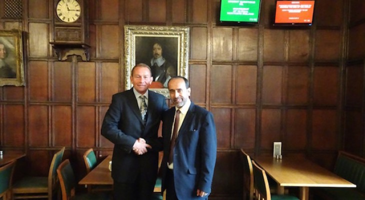 EuroPal Forum chairman meets with Philip Hollobone MP