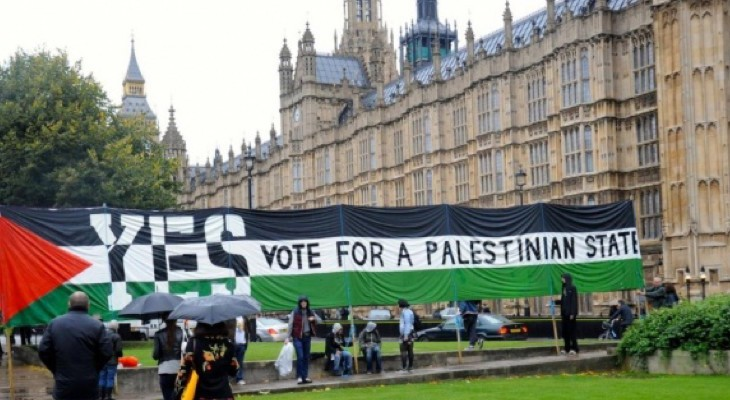 Conservative Party fringe: A just policy for Palestine?