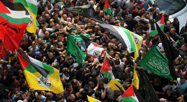 Thousands attend West Bank funeral amid rising violence