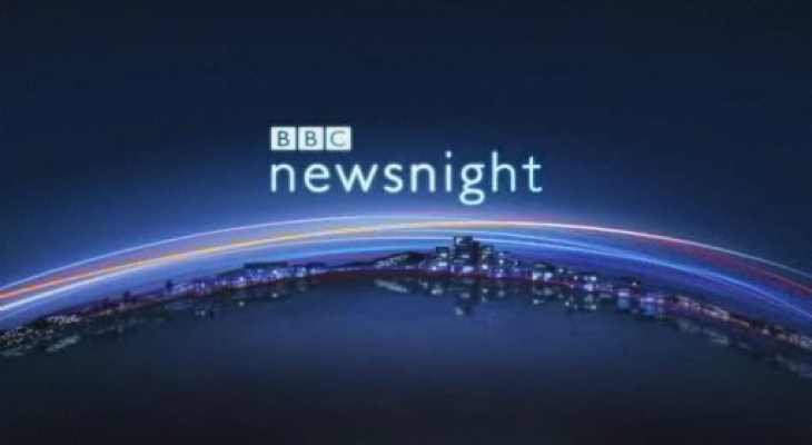 BBC's Newsnight says Jerusalem is 'Israel's capital'